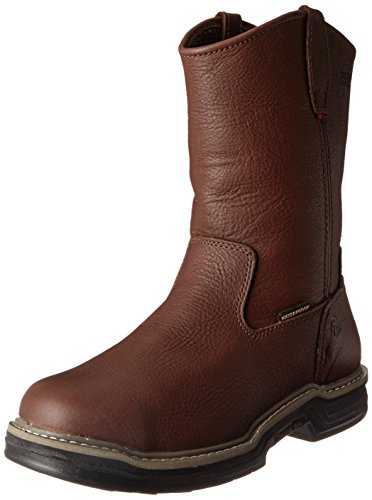 Wolverine Men's W04826 Buccaneer Boot, Dark Brown, 8.5 M US