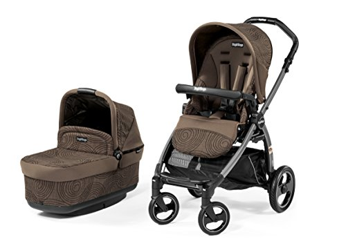 Peg-Perego Book Pop Up Stroller, Circles Choco