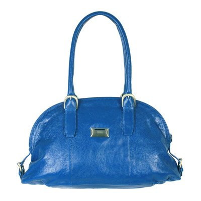 Mimi in Memphis Taylor Coin Keeper Domed Tote Bag Color: Metallic Gold