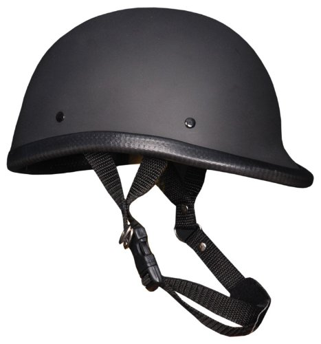 Novelty Helmet Hawk Flat Black (Hawk Novelty Helmet)