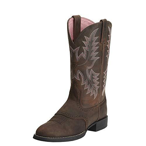 Ariat Women's Heritage Stockman Western Boot, Driftwood Brown/Driftwood Brown, 11 C US - Heritage Stockman Boots