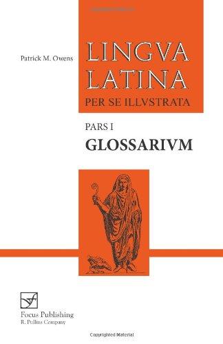 Glossarium: Pars I (Lingua Latina)