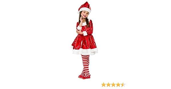 Disfraz Mama Noel Electric (5-6 AÑOS): Amazon.es: Juguetes y juegos