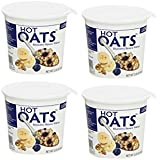 LOVE GROWN FOODS | Hot Oats | Blueberry/Banana/Walnut | Gluten Free [ 4 Pack ]
