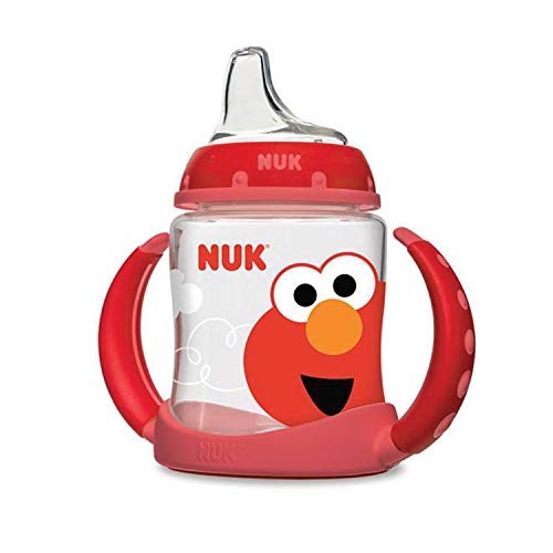 NUK Sesame Street Learner Cup, 5oz (Best Sippy Cup 6 Months)
