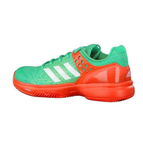 adidas Damen Tennisschuhe Ubersonic 2 W Clay CORGRN/FTWWHT/ENERGY 39 1/3