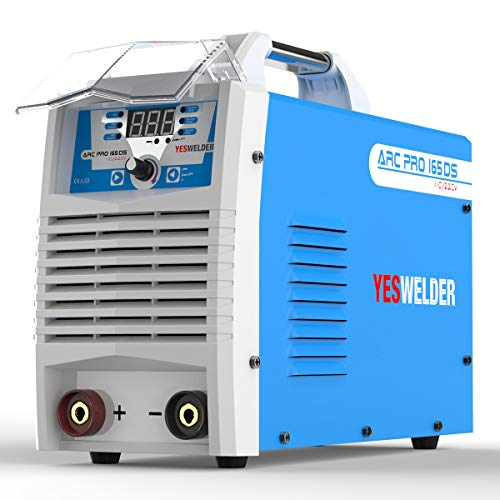 YESWELDER ARC Welder 165A Stick Welding Machine Digital Inverter Welder 110/220V DC Lift TIG Portable Welding Machine ()