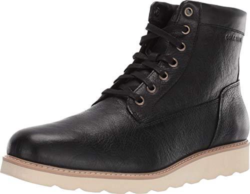Cole Haan Men's Nantucket Rugged Plain Boot Fashion, Black, 11 M US