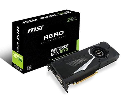 MSI nVidia GeForce GTX 1070 Founders Edition