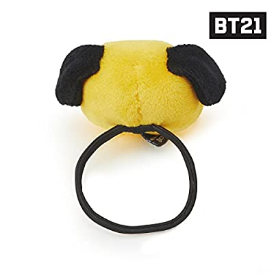 BT21 Official Merchandise by Line Friends - Plush Character Elastic Hair Ties Accessories