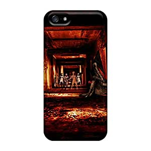 Flexible Tpu Back Case Cover For Iphone 5/5s - Silent Hill