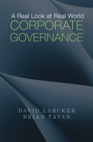 A Real Look at Real World Corporate Governance
