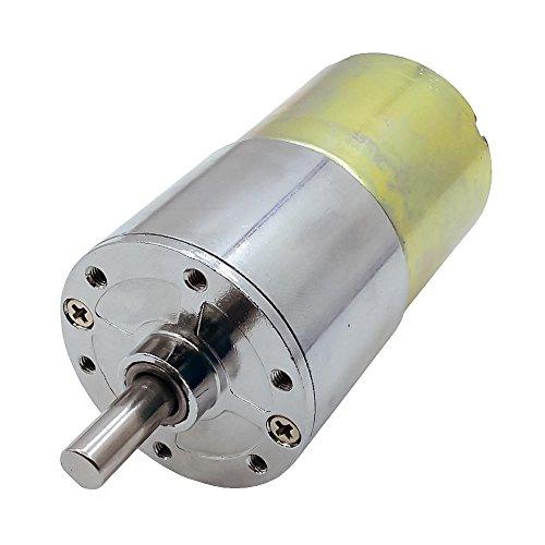 DC 24V 150Rpm Electric Motor Micro Gear Box Dia 37mm for DIY Hobby