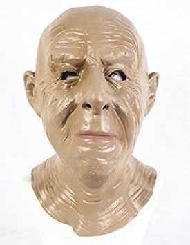 The Rubber Plantation TM 619219293952 - Máscara de látex realista para hombre, diseño de abuelo