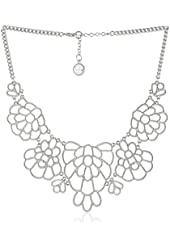 Jessica Simpson Bib Necklace, 17""