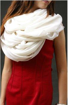 e62587600c3a Prettystern - écharpe oversize Pashmina 100 fil frange courte  particulièrement fines et douces - beaucoup de