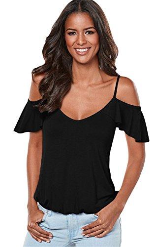black strappy t shirt dress - 8