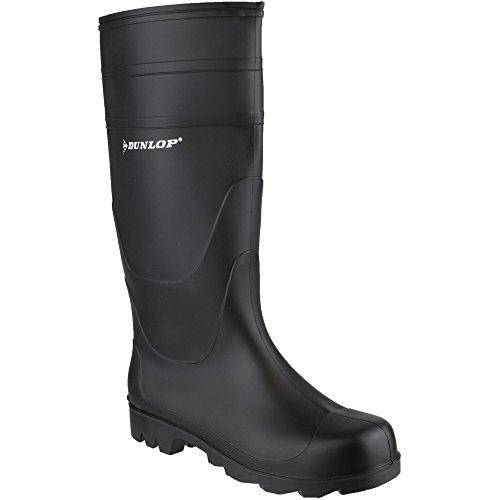 Universal EU Stiefel kniehoher gr眉n Gummi 11 schwarz Dunlop oder 46 UK wasserdichter azTqxad