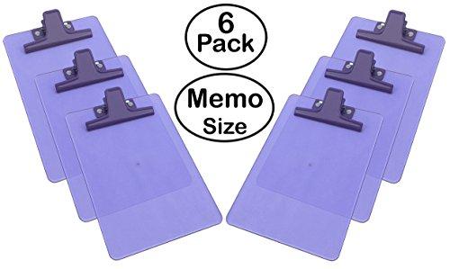 Acrimet Clipboard Premium Plastic Purple