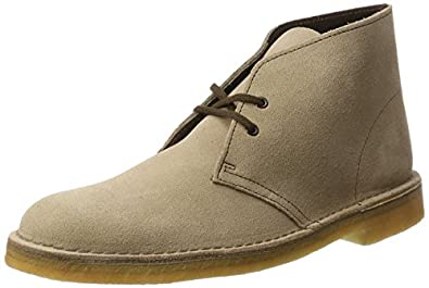 Clarks Originals Mens Desert Boot Leather Shoes