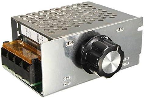 HaiNing Zheng AC 220V 4000W SCR電圧レギュレータディマー電子モータースピードコントローラー