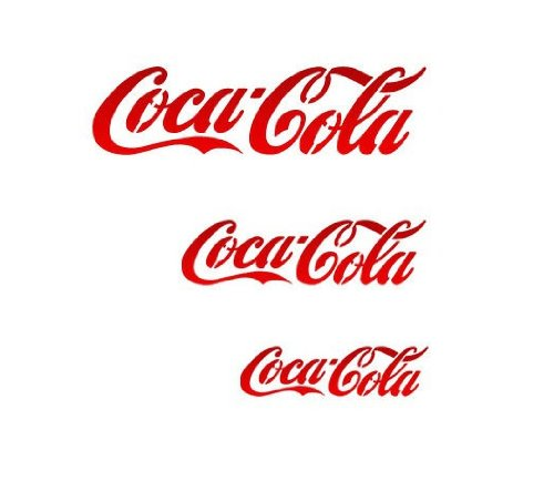 - J BOUTIQUE STENCILS Cocacola Stencil - Medium Size - Reusable Template for Crafting DIY Room decor Wall art furniture