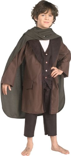 [Lord of the Rings Frodo Child Costume Size Large] (Lotr Elves Costumes)