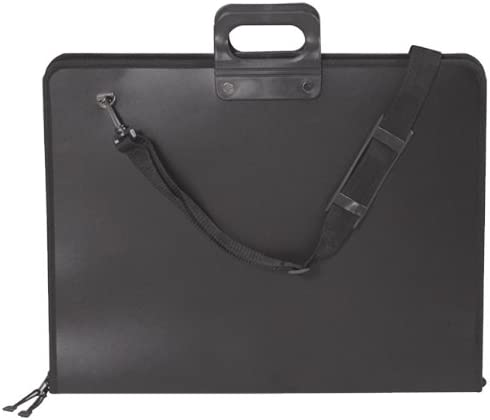 23.5 x 31.5 x 1.5 Inches 1 Each Black 66-PRO2005 Martin Pro-2 Art Portfolio