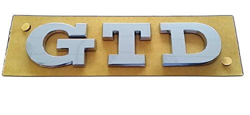 Volkswagen Original Letras GTD Trasero Logo Emblema Volkswagen 5G0 853 675 R