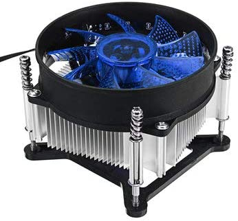 MITUHAKI 909025mm 4Pin 12V Red Blue Green LED CPU Cooler Cooling Fan for 1150 1155 1156 1151 - Computer Components CPU Cooling Fans Blue 1 X 900x400x3mm Oversized Thicker Non-slip Bottom Wor