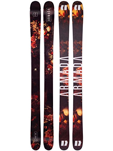 Tip Skis Carbon Twin (Armada ARW 96 Skis 2018 (163cm))