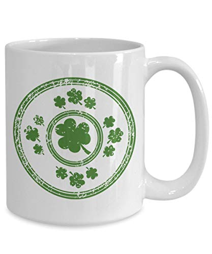 (St Patricks Day Irish Shamrock Coffee Mug Birthday Christmas Tea Cup Gift Idea For Men Women )