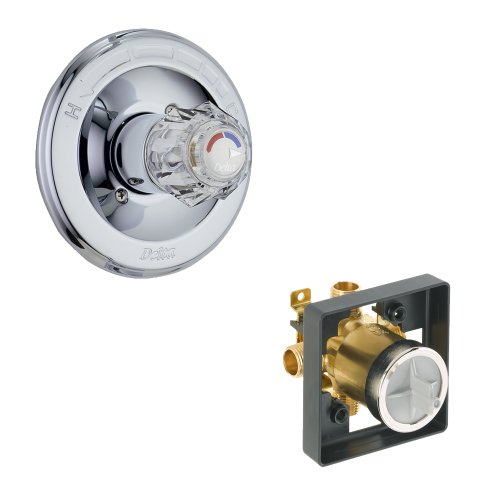 Balance Classic Pressure Shower (Delta KVODCL-T13022-CH-2 Classic Valve Only Kit Pressure-Balance Single-Function Cartridge, Chrome)