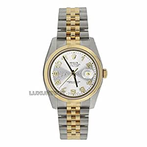 Rolex Datejust Analog-Quartz Male Watch 116203 (Certified Pre-Owned)