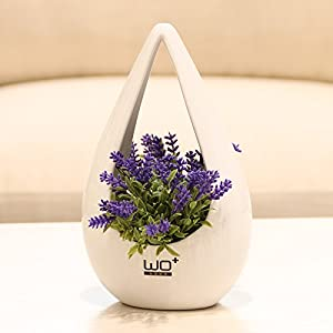 Emulation flower artificial flowers Super Star With Ceramic IV bottle nacelle flowerpots and stylish floral decor kit flower 53
