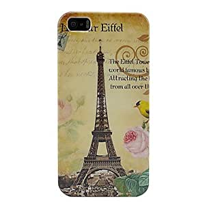 HP DF Eiffel Tower Plastic Case Cover For iPhone 5/5S