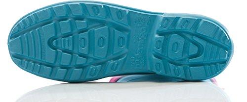 Lemigo Bota de Agua Muy Ligera Jessy 800 (Rojo88/Navy, 40) Azul Claro/Rosa