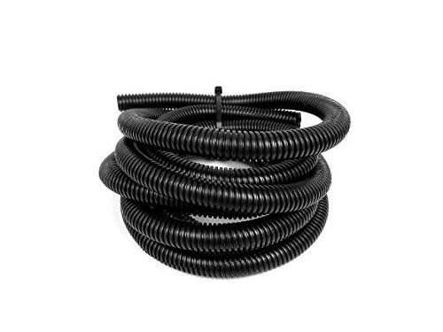 Wire Loom Black 20' Feet 1' Split Tubing Hose Cover Auto Home Marine by Nippon America