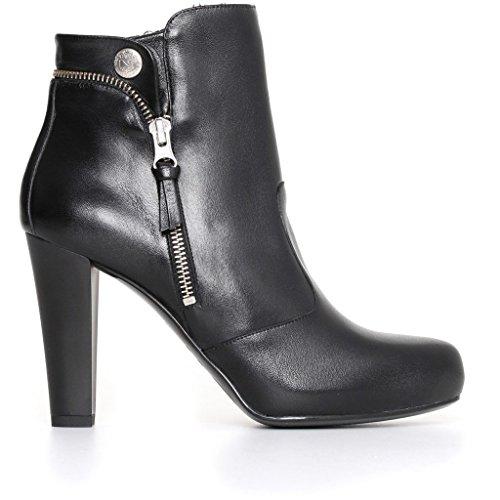 Giardini Zapatillas Altas Negro Mujer Nero gwqdEXg4