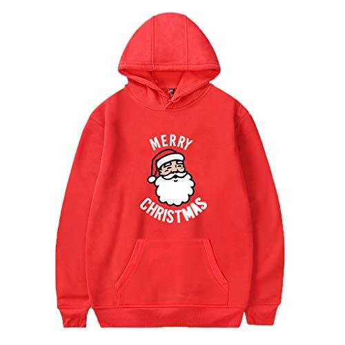 Harpi 2018 Christmas Couples 3D Santa Printing Hoodies Women Men Plus Size Sweatshirt,Autumn Winter Hooded Long Sleeve Blouse