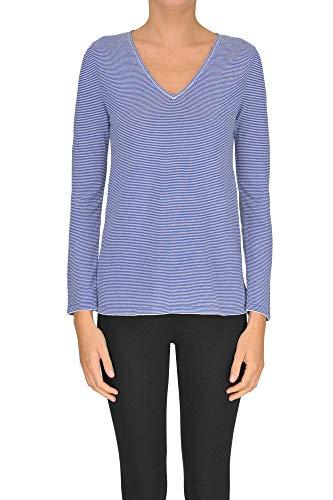 Azul T Milano Mcgltps000005020e shirt Mujer Viscosa Base tBTwxURqA