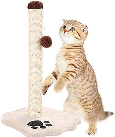 HEEGNPD Gato Sisal Cuerda Gato Escalada Marco Gatos Rasguño Poste Juguetes Desmontable Gato Árbol para Gatos Gatito Grinding Garra: Amazon.es: Hogar
