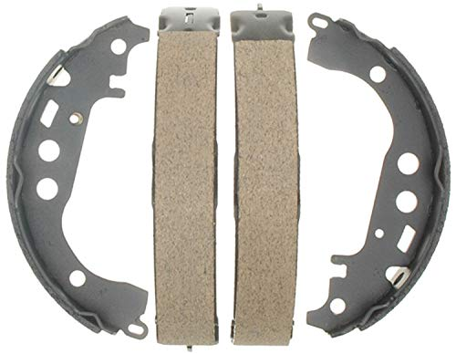 Detroit Axle - Rear Ceramic Brake Shoes Kit for 2001 2002 2003 2004 2005 2006 2007 2008 Toyota Prius - [2000-2005 Celica] - 2003-2008 Corolla ()
