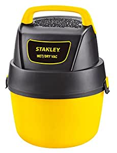 Stanley Wet/Dry Vacuum with Wall Mount, 1 Gallon, 1.5 Horsepower