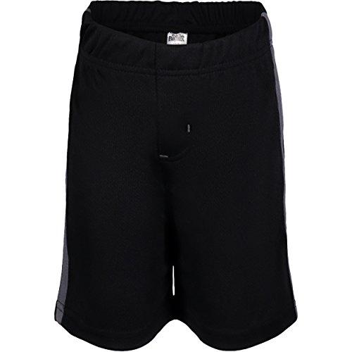 2632828d ... Marvel Avengers Black Panther Big Boys' Athletic T-Shirt & Mesh Shorts  Set, ...