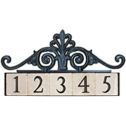 NACH KA-ROYAL GATE-5 House Address/Number Sign Plaque