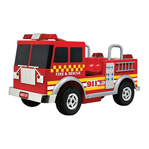picture of Kalee Fire Truck Battery Powered Riding Toy