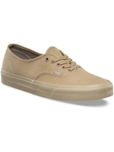 Vans Unisex Authentic Skate Shoe (11.5 D(M) US Mens/13.0 B(M) US Womens, (Mono Surplus) Khaki/Khaki)