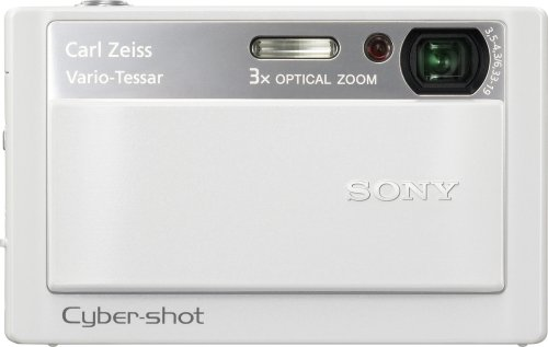 Sony Cybershot DSC-T20 8MP Digital Camera with 3x Optical Zoom and Super Steady Shot (White)