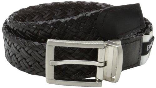 Nike Men's Braided G Flex Reversible, Brown/Black, 36 (Reversible Braided Leather)